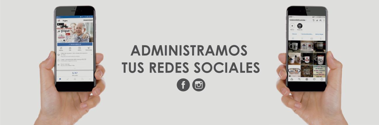 administración de redes sociales, pagina web
